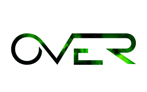 over green